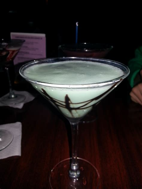 chocolate mint martini martini the bite tonight