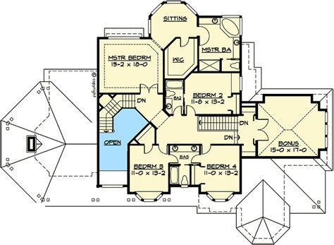 master down classic house plan 15608ge 1st floor classic craftsman with master up or down 2324jd