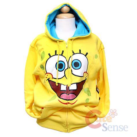 Hoodie Zipper Spongebob Anak L spongebob squarepants hoodie sweatshirts mediim
