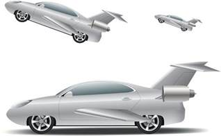 new flying car flying high the of the cleanroom in the development