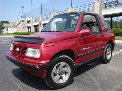used 1992 geo tracker lsi soft top 4x4 for sale stock