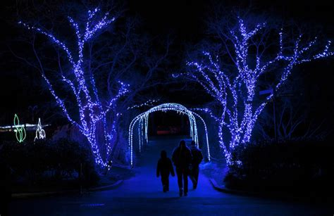 National Zoo Celebrates The Holiday Season Zimbio Washington Dc Zoo Lights
