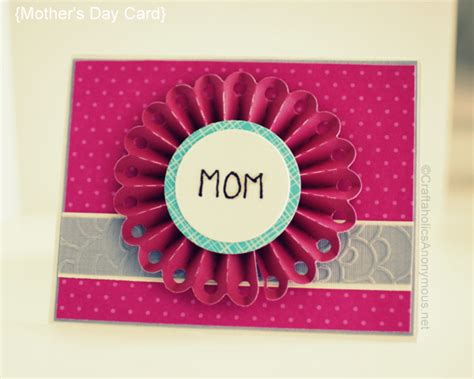 mom cards mother s day card idea