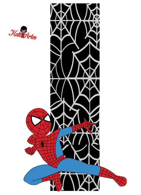 printable heroes lady of pain alfabeto de spiderman con fondo negro oh my alfabetos
