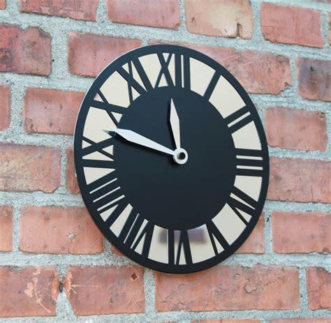 Moderne Uhren Für Die Wand by Massivholzbank Erle