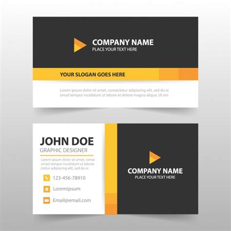 business card template software business card template design vector free