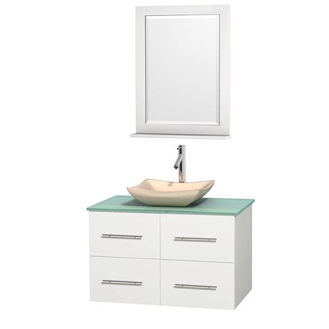 green bathroom vanity wyndham collection wcvw00936swhgggs2m24 centra 36 inch