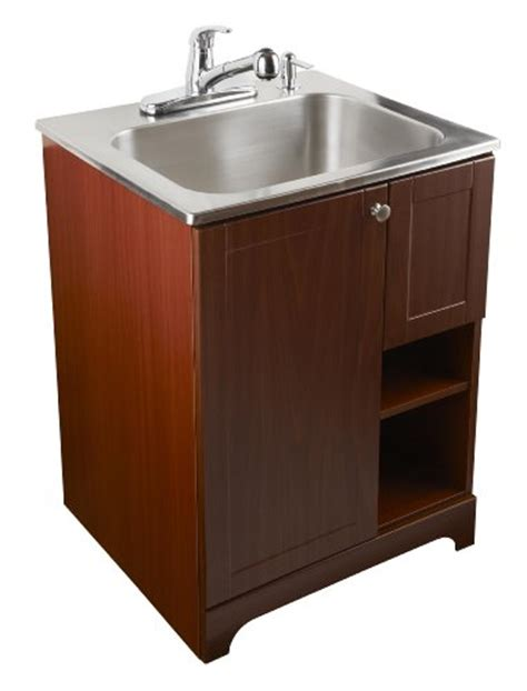 all in one utility sink laundry room sinks masco bath 103030 all in one stainless