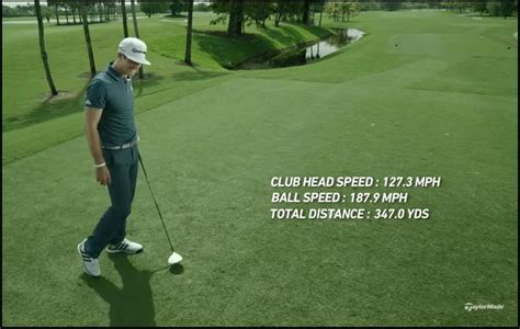 dustin johnson swing speed dustin johnson s ball speed wax golf