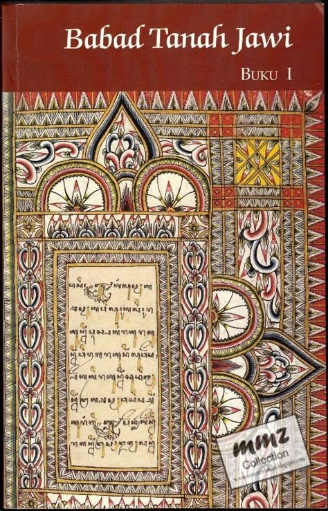 Babad Bumi Jawa book buku langka babad tanah djawi versi r ng