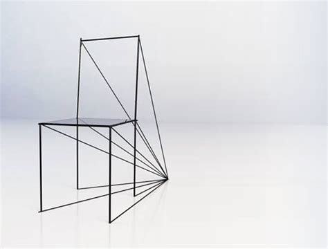 How To Draw A 3d Chair Step By Step by Teeje
