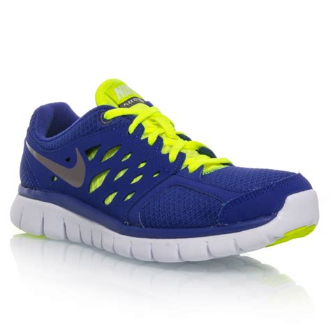 boys nike athletic shoes buy nike flex 2013 rn gs boys running shoes blue