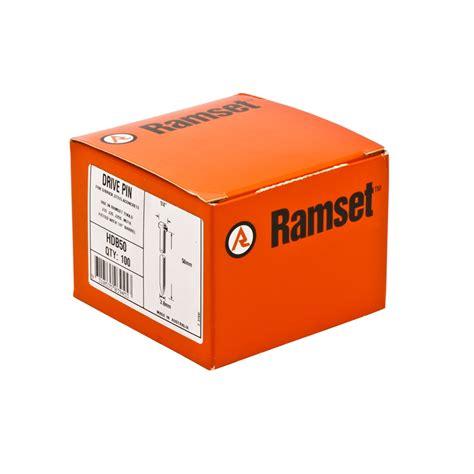 Ramset J20s Ramset 3 8 X 50mm Nail Gun Drive Pins 100 Pack Ebay