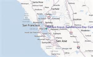 oakland airport san francisco bay california tide