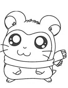 cute hamster coloring page creative cuties pinterest cute