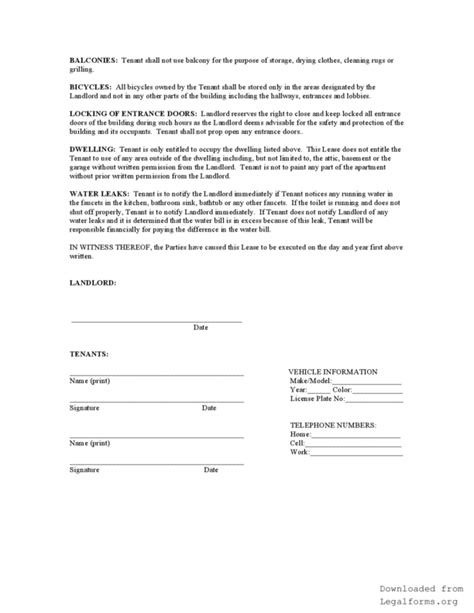 agreement template word illinois month to month rental agreement legalforms org