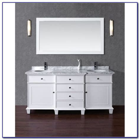 60 inch white sink vanity home decorating ideas