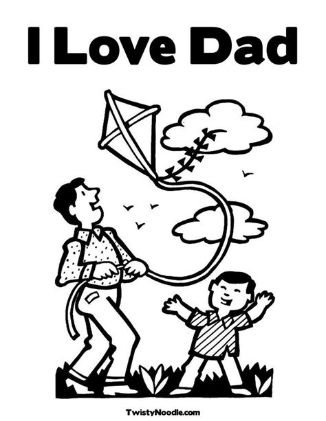 free i love you daddy coloring pages i love my dad coloring pages