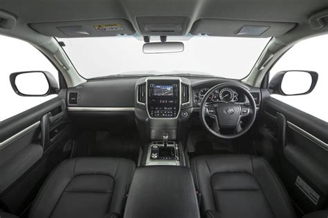 toyota land cruiser interior 2017 2017 toyota landcruiser altitude special edition announced