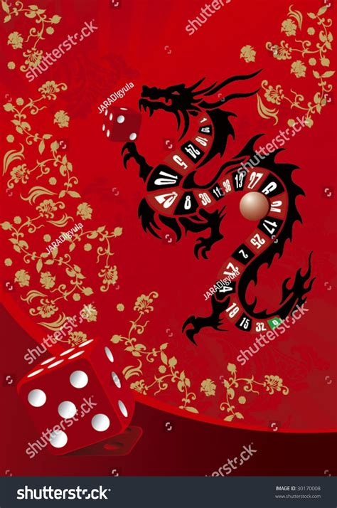 customdesigned mahjong whole set over wood stock vector chines casino illustration with dragon 30170008