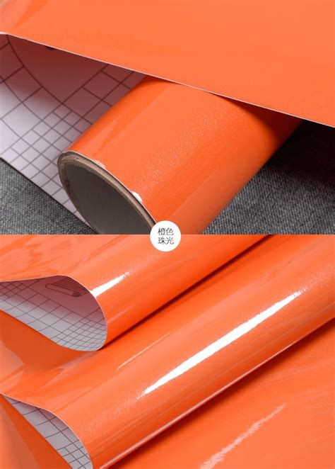 Wallpaper Sticker 5m by Self Adhesive Thick Anti Paint 13colors Stickers 5m