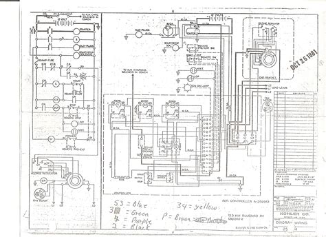 kohler generator engine diagram kohler free engine image
