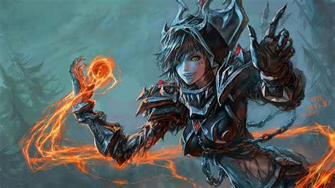 game wallpaper artwork undead women of world of warcraft digitalart io