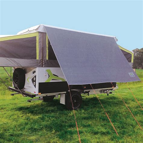 Rv Awning Sunscreen by Cer Privacy Sunscreen Offside W3380mm X H2050mm