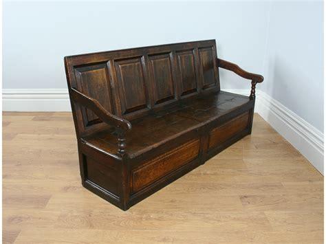 monks bench ebay monks bench ebay antique english 6ft george ii oak hall