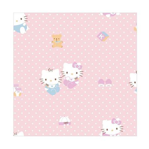 wallpaper hello kitty untuk kamar jual new sanrio world kt 168 motif hello kitty wallpaper