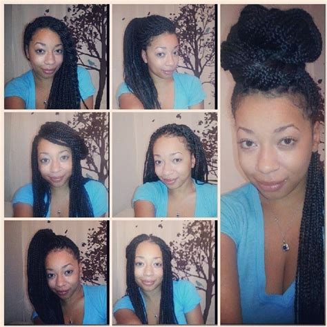 hairstyles for school with box braids ten simple hairstyles for box braids youtube