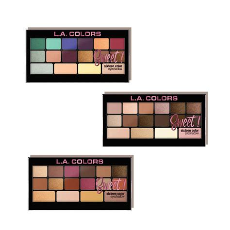 la colors makeup sweet 16 eyeshadow palette la colors colorsandmakeup