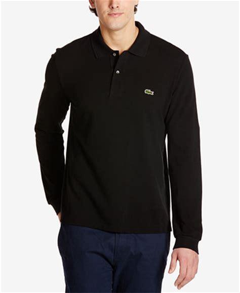 Kaos Polo Burberry Burberry Polo Shirt Black Kaos Pria Import lacoste s sleeve pique polo polos macy s