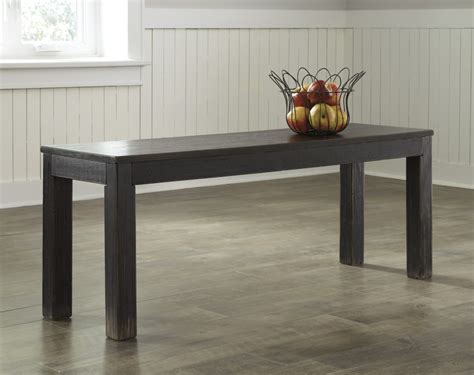 dining room benches d532 09 ashley furniture gavelston large dining room bench