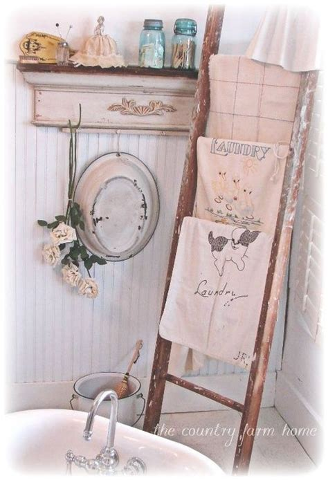 towel ladder chalk paint easy project crown molding
