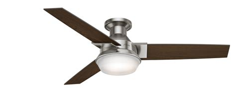 hunter morelli ceiling fan 52 quot brushed nickel chrome ceiling fan morelli 59141