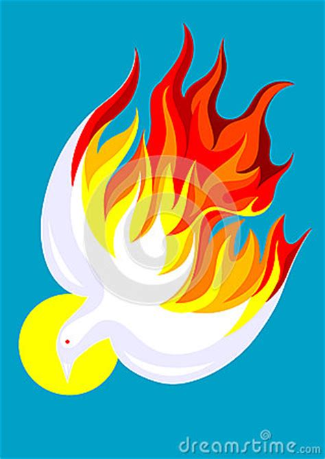 holy spirit stock vector image