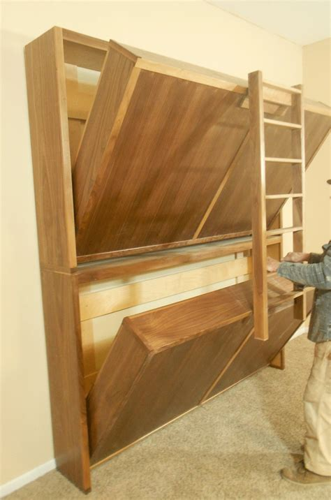 diy murphy bunk bed no space for guests you might consider these murphy fold