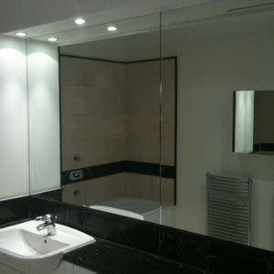 fitted bathrooms london mirrors privacy film installation in london