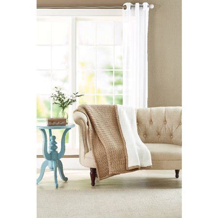 Better Homes And Gardens Throws by Better Homes And Gardens Cable Knit To Sherpa