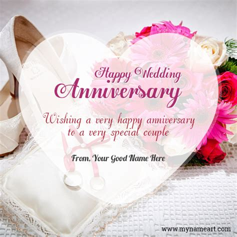 Wedding Anniversary Wishes Editing by Wedding Anniversary Celebration Image With Name Wishes