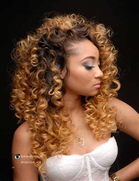Types Of Curly Hair Weaves by Curly Hair Weave Styles Hair Curly