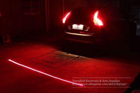 Car Motor Laser Fog Light waterproof 12v 24v car styling truck laser fog light rainproof anti collision rear end auto