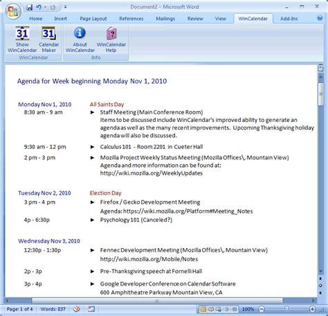 outlook meeting minutes template 6 sle agenda divorce document