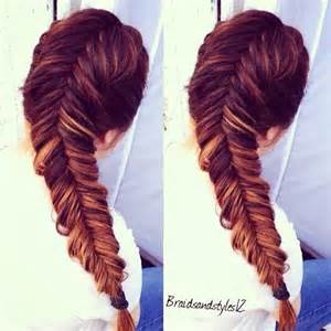 easy hairstyles with box fishtales dutch fishtail