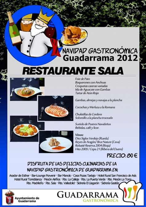 restaurante sala guadarrama restaurante sala guadarramagastronomica