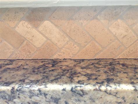 Caulking Kitchen Backsplash by Kitchen Counters How To Caulk Stone Backsplash To
