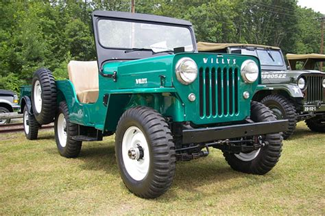 1962 Willys Jeep 1962 Willys Cj 3b With Matching Trailer Flickr Photo