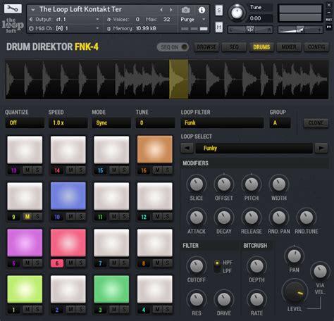 drum pattern player kvr the loop loft releases quot drum direktor 2 0 quot for
