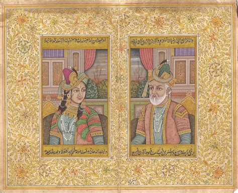 travels in the mogul empire classic reprint books mughal empire handmade moghul miniature portrait